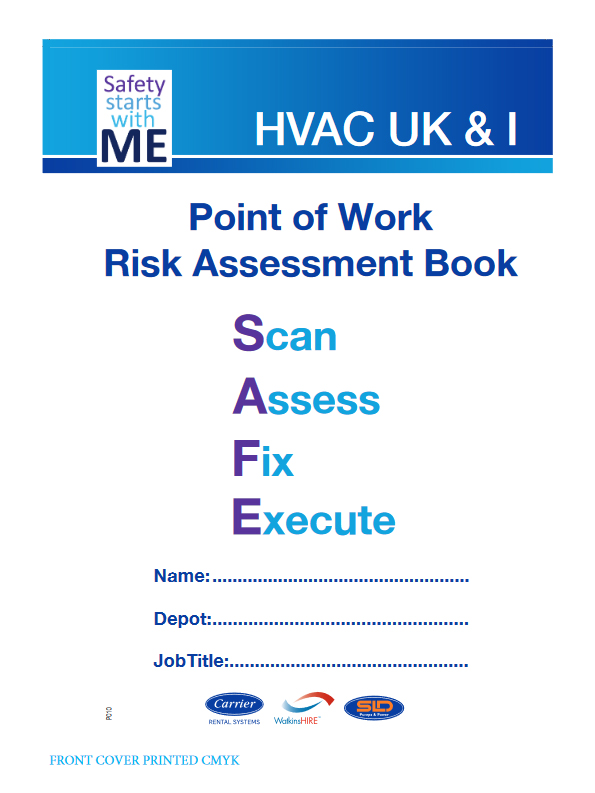 Point of WorkRisk Assessment Book