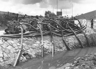 70th Anniversary - Helping contractors manage water on site was a key driver.