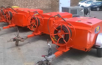 Sld Pumps Now Supplying Hot Wash Jetters