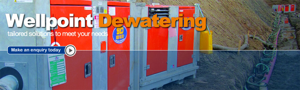 SLD Pumps and Power Wellpoint Dewatering